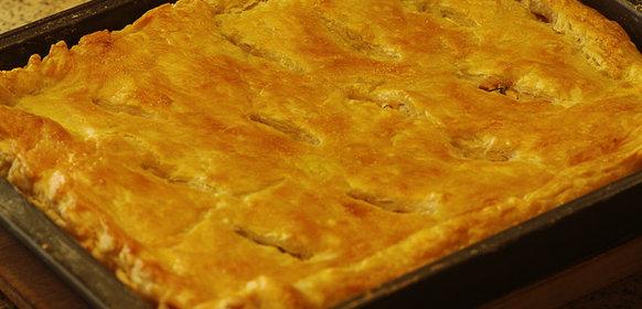 Рецепт пирог из семги