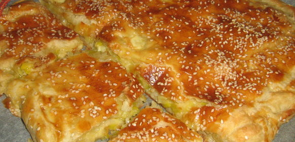 Пирог луком порей рецепты фото
