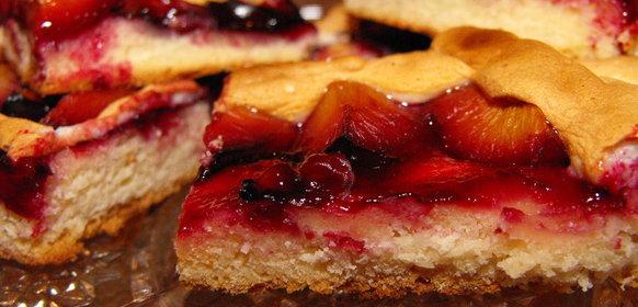 Сливовый пирог рецепт пошаговый рецепт с фото