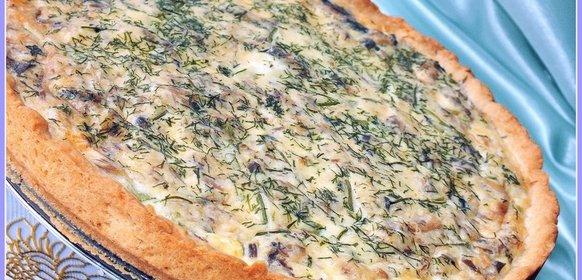 Картинки по запросу пирог с консервированной сайрой открытый