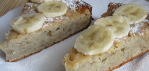 Пирог банановый рецепт пошагово