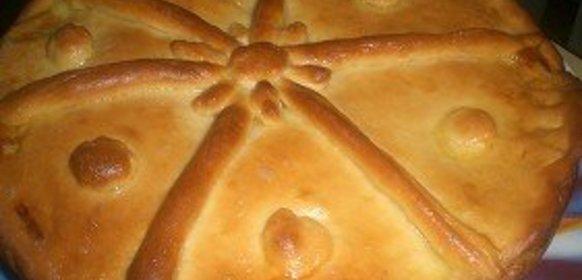 Рецепт простого пирога с мясом пошагово