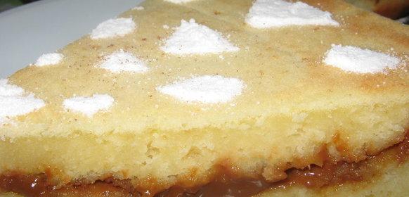 Пирог со сгущенкой рецепт пошагово в духовке