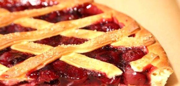 Вишневый пирог на дрожжевом тесте рецепт