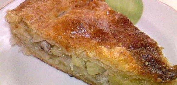 Рецепт осетинского пирога с курицей и картошкой