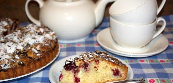 фото пирога с вишневого рецепт пошагово