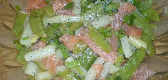 Простые рецепты салатов из спаржи с фото