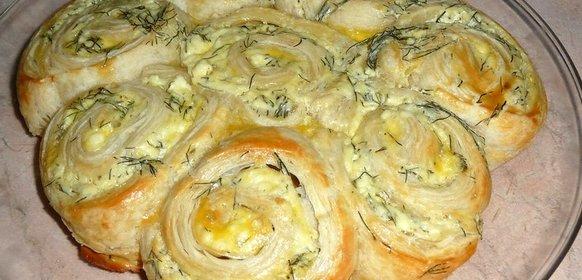 Простой пирог с брынзой рецепт