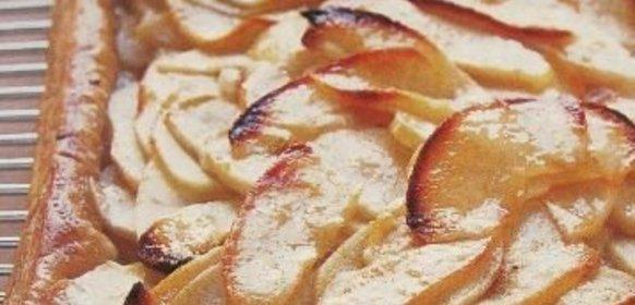 Домашний яблочный пирог простой рецепт с