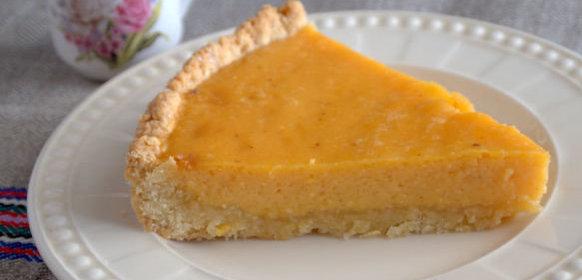 Тыквенный пирог со сгущенкой рецепт с фото