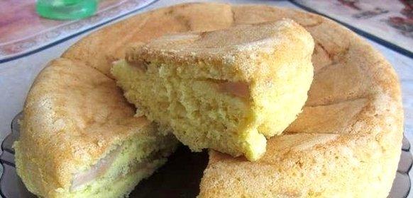 Быстрый пирог с яблоками в мультиварке рецепты с фото