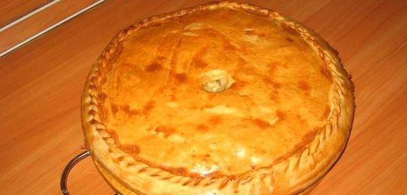 Рецепт курника пошаговый рецепт с фото
