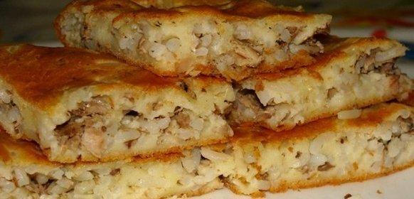 Пирог с капустой из жидкого теста пирог с капустой и