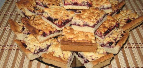 Тесто для пирога с повидлом рецепт
