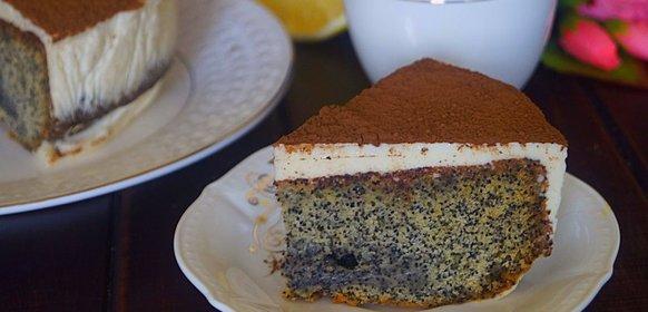 Торт маком рецепт фото пошагово