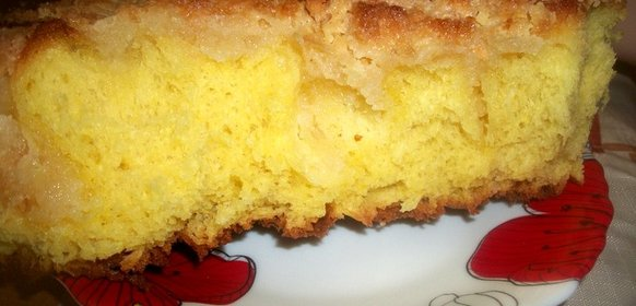Пирог на сливках рецепт пошагово