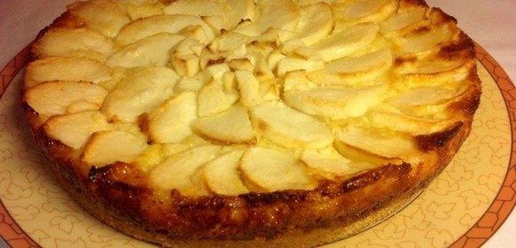 Пошаговый рецепт яблочного пирога с фото