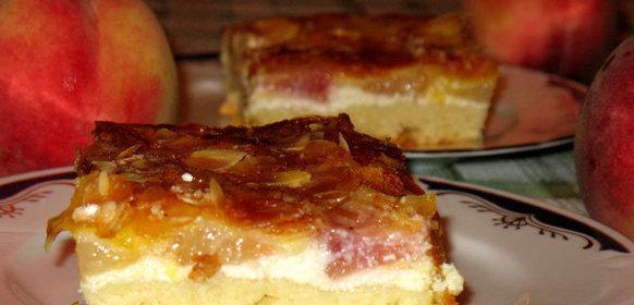 Персики духовке рецепт с фото