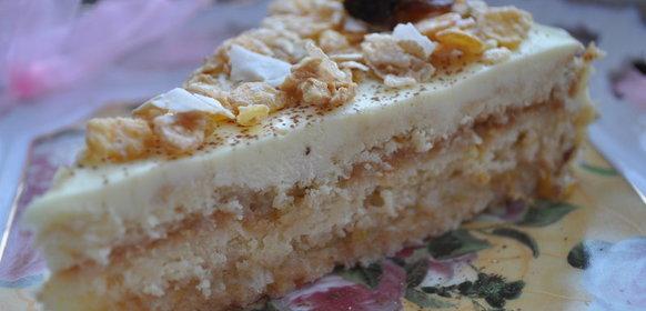 Торт лимонный рецепт с фото пошагово в домашних условиях
