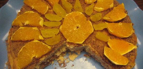Апельсиновый пирог рецепт пошагово простой