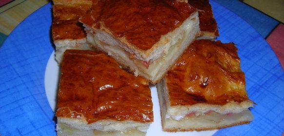 Яблочный пирог закрытый рецепт с фото пошагово в духовке