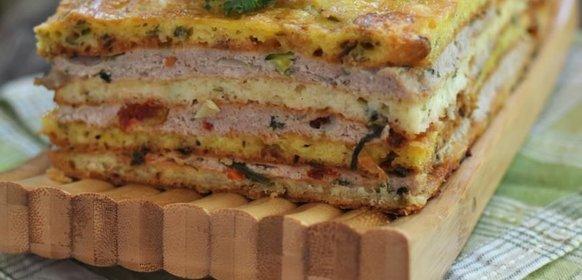 Пирог закрытый с курицей рецепт с пошагово в